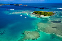 France, Martinique, Le Robert, havre du Robert, l'îlet Madame // France, West Indies, Martinique, Le Robert, l'îlet Madame