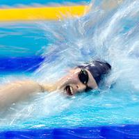 British Gas Swimming Championships - panning