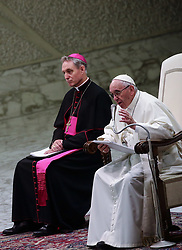 June 1, 2017 - Vatican City State (Holy See) -POPE FRANCIS meet the Young Knights in the Paolo VI hall at the Varican  (Credit Image: © Evandro Inetti via ZUMA Wire)
