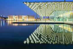 View of National Theatre in Manama Bahrain