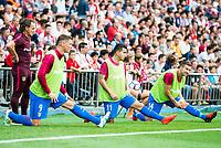 "Atletico de Madrid's player Fernando Torres, Ángel Martín Correa and Gabriel ""Gabi"" Fernández during a match of La Liga Santander at Vicente Calderon Stadium in Madrid. September 17, Spain. 2016. (ALTERPHOTOS/BorjaB.Hojas)"