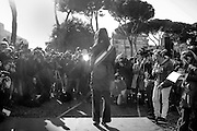 Virginia Raggi in visita al circo massimo<br /> 17 novembre 2016 . Daniele Stefanini /  OneShot<br /> <br /> Rome's mayor Virginia Raggi during a press preview of the ancient Circus Maximus archaeological site after its restoration and its opening to the public, on November 16, 2016 in Rome. Daniele Stefanini /  OneShot
