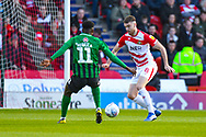 Ben Whiteman of Doncaster Rovers (8) in action during the EFL Sky Bet League 1 match between Doncaster Rovers and Coventry City at the Keepmoat Stadium, Doncaster, England on 4 May 2019.