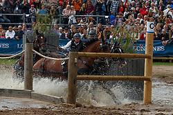 Dobrovitz Jozsef Jr, HUN, Conversano Banjok, Dante, Exclusive, Jatek, Reno<br /> FEI European Driving Championships - Goteborg 2017 <br /> © Hippo Foto - Dirk Caremans<br /> 26/08/2017,