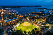 The 1908 Newport, RI Ballpark is one if the oldest in America