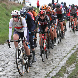 29-02-2020: Wielrennen: Omloop Nieuwsblad: Ninove: Alice Barnes