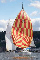 The Silvers Marine Scottish Series 2014, organised by the  Clyde Cruising Club,  celebrates it's 40th anniversary.<br /> Day 1 GBR8578T, Firstar, Stuart Spence, CCC , First 31.7<br /> <br /> Racing on Loch Fyne from 23rd-26th May 2014<br /> <br /> Credit : Marc Turner / PFM