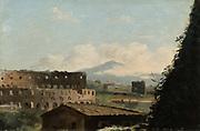 View of the Colosseum', Pierre de Valenciennes (1750-1819) French painter.