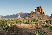The Hausien sand stone mountains. Ethiopia