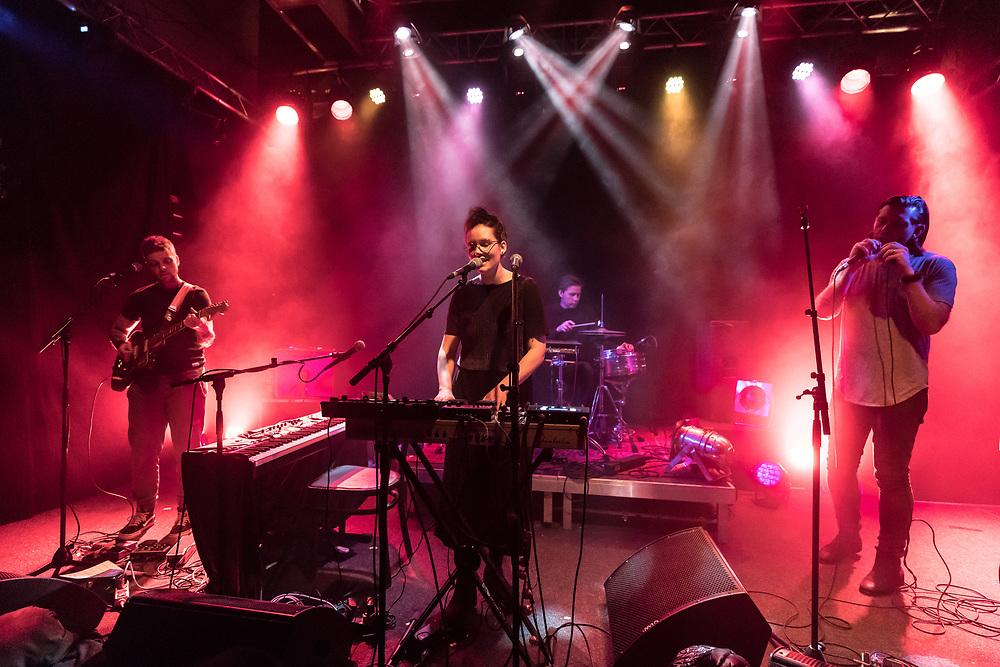 Icelandic singer-songwriters Sin Fang, Sóley, and Örvar Smárason at Gebäude 9 in Cologne