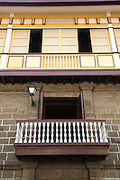 Casa Manila is housed in a Spanish era building that shows the colonial lifestyle during the Spanish colonial period of the Philippines. Casa Manila is an imposing stone structure circa 1850, one of the grand houses in Barrio San Luis of Intramuros and across the street from San Agustin church.