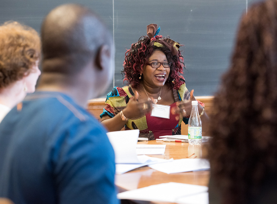Photo by Mara Lavitt<br /> June 15, 2017<br /> New Haven, CT<br /> The 2017 ALA (African Literature Association) Annual conference held at Yale University.