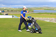 Daniel Holland (Castle) beat John Hickey (Cork) by 1 hole during Matchplay Round 2 of the South of Ireland Amateur Open Championship at LaHinch Golf Club on Friday 22nd July 2016.<br /> Picture:  Golffile | Thos Caffrey<br /> <br /> All photos usage must carry mandatory copyright credit   (© Golffile | Thos Caffrey)