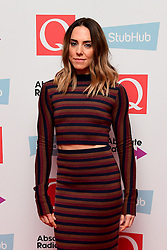 Melanie C attending the Stubhub Q Awards 2016, in association with Absolute Radio, at the Roundhouse, London.