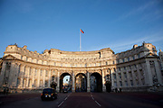 Admiralty Arch is the grand entrance to The Mall on Trafalgar Square.