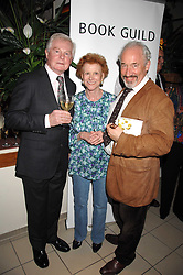 Left to right, actor SIR DEREK JACOBI, PAULINE HYDE and actor SIMON CALLOW at a party to celebrate the publication of Pauline Hyde's book 'Midas Man' held at San Lorenzo, Beauchamp Place, London on 29th May 2008.<br /><br />NON EXCLUSIVE - WORLD RIGHTS