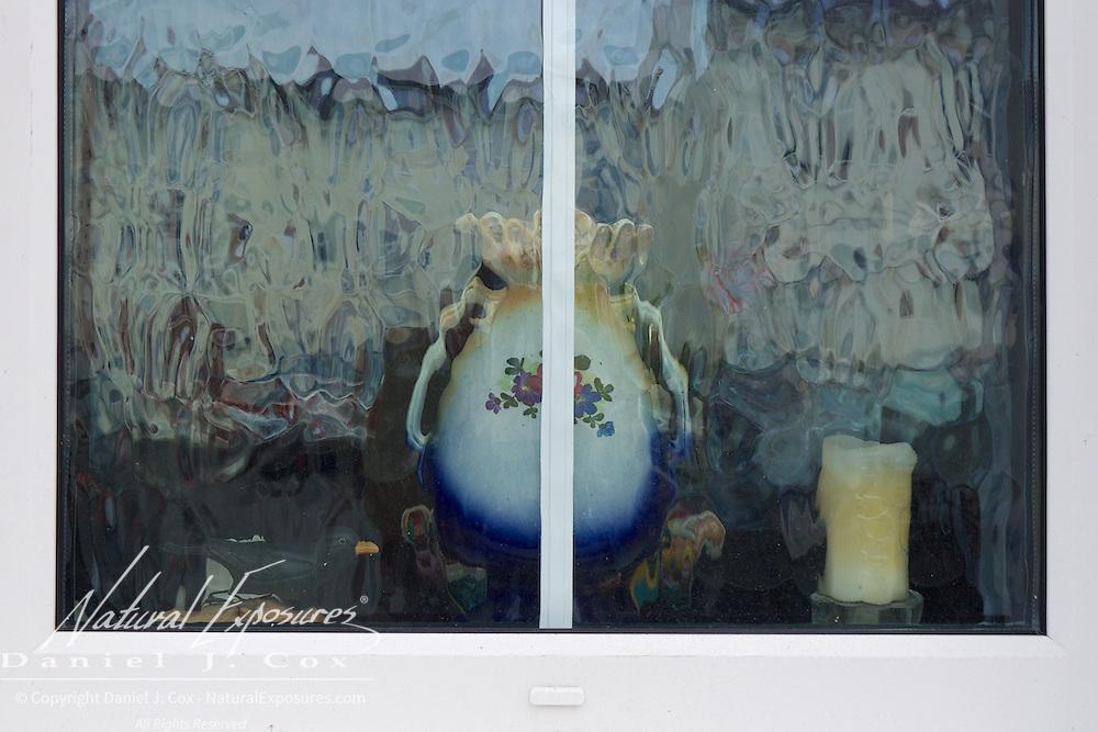 Items on the windowsill, Ireland.