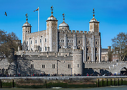 The Tower of London, showing Traitors' Gate