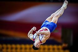 October 29, 2018 - Doha, Qatar - Nikita Nagornyy of Russia   during  Floor, Team final for Men at the Aspire Dome in Doha, Qatar, Artistic FIG Gymnastics World Championships on October 29, 2018. (Credit Image: © Ulrik Pedersen/NurPhoto via ZUMA Press)
