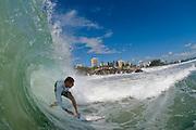 30 April 2011:Mick Fanning surfs at Snapper Rocks on the Gold Coast. Photo by Matt Roberts