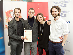 The 15th Critics' Circle National Dance Awards 2014<br />  <br /> The Awards, hosted by Arlene Phillips, were held at The Place on 26 January. <br /> <br /> The Outstanding Company of 2014 was English National Ballet and the award was accepted by the company's artstic director and principal ballerina, Tamara Rojo. <br /> <br /> The De Valois Award for Outstanding Achievement presented by Darcey Bussell was given to Carlos Acosta in recognition of his outstanding career as a dancer and as a producer of new work. <br /> <br /> The Jane Attenborough Dance UK Industry Award was presented to Frank Doran MP, Secretary of the All Party Parliamentary Group for Dance, in recognition of his work for the dance industry. Mr Doran, MP for Aberdeen North, is standing down at the General Election.<br /> <br /> The winners<br /> <br /> Outstanding Male Performance (Modern).<br /> Jonathan Goddard in the title role as Dracula for the Mark Bruce Company.<br />  <br /> Outstanding Female Performance (Classical).<br /> Natalia Osipova in the title role in Giselle for The Royal Ballet.<br />  <br /> Best Modern Choreography.<br /> Akram Khan for Dust by English National Ballet.<br />  <br /> Outstanding Male Performance (Classical).<br /> Xander Parish in the title role in Apollo for the Mariinsky Ballet.<br />  <br />  <br />  <br /> WinnersThe winners with Dance section chair Graham Watts on the right. ©  John Ross<br />  <br /> Outstanding Female Performance (Modern).<br /> Wendy Houstoun for Pact with Pointlessness.<br />  <br /> Grishko Award for Emerging Artist.<br /> Francesca Hayward.<br />  <br /> Best Independent Company.<br /> Mark Bruce Company.<br />  <br /> Jane Attenborough Dance UK Industry Award.<br /> Frank Doran MP<br />  <br /> Stef Stefanou Award for Outstanding Company.<br /> English National Ballet.<br />  <br /> Best Classical Choreography<br /> Christopher Wheeldon for The Winter's Tale for the Royal Ballet.<br />  <br /> The Dancing Times Award for Best Male Da