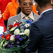 NLD/Amsterdam/20121114 - Vriendschappelijk duel Nederland - Duitsland, huldiging Edgar Davids