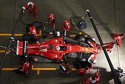 April 7, 2017 - Shanghai, China - Motorsports: FIA Formula One World Championship 2017, Grand Prix of AChina, .#5 Sebastian Vettel (GER, Scuderia Ferrari) (Credit Image: © Hoch Zwei via ZUMA Wire)