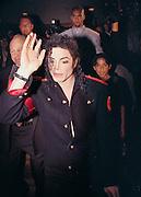 Michael Jackson in Sydney in 1996, where he got married.