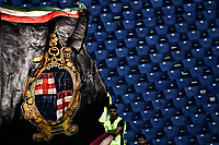 Bandiera Bologna. Flag Bologna Supporters<br /> Roma 16-10-2016  Stadio Olimpico <br /> Football Calcio Campionato Serie A Lazio - Bologna <br /> Foto Andrea Staccioli / Insidefoto
