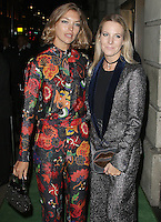 Arizona Muse & Alice Naylor-Leyland, A Green Carpet Challenge BAFTA Night To Remember, BAFTA Piccadilly, London UK, 18 September 2016, Photo by Brett D. Cove