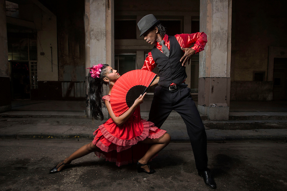 Tango Dancers, Havana