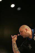 BDO International Open Darts championship at Pontins, Brean Sands in Somerset,England.