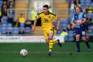 Cameron Brannagan of Oxford United in action during the EFL Sky Bet League 1 match between Oxford United and Wycombe Wanderers at the Kassam Stadium, Oxford, England on 30 March 2019.