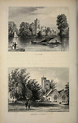 London Fulham [top] and Barnes Church From the book Illustrated London, or a series of views in the British metropolis and its vicinity, engraved by Albert Henry Payne, from original drawings. The historical, topographical and miscellanious notices by Bicknell, W. I; Payne, A. H. (Albert Henry), 1812-1902 Published in London in 1846 by E.T. Brain & Co