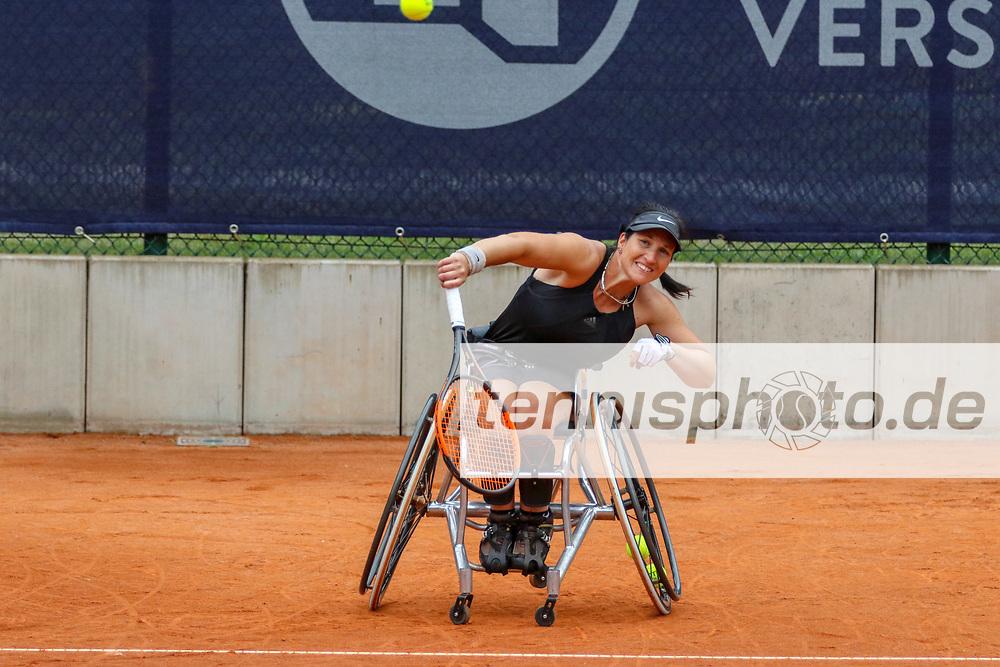 Katharina Kruger (GER) [2], 30. German Open Rollstuhltennis/ 30th German Open Wheelchair Tennis, Berlin, 06.07.2018/6th july 2018, Foto: Claudio Gärtner