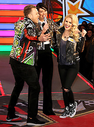 © Licensed to London News Pictures. 03/01/2017. London, UK, Spencer Pratt; Speidi; Heidi Montag, Celebrity Big Brother: WInter 2017 - Live Launch Show, Photo credit: Brett Cove/LNP