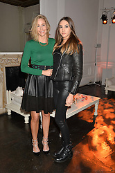 LISA BUTCHER and her daughter AMBER DONOSO at White by Agadir hosted by the Moroccan National Tourist Office to celebrate the White City in Morocco in the presence of H.H.Princess Lalla Joumala, Ambassador of HM The King of Morocco held at Il Bottaccio, 9 Grosvenor Place, London on 4th November 2014.