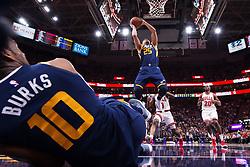 November 23, 2017 - Salt Lake City, UT, USA - 171117 Utahs Raul Neto under basketmatchen i NBA mellan Utah Jazz och Chicago Bulls den 22 november 2017 i Salt Lake City  (Credit Image: © Joel Marklund/Bildbyran via ZUMA Wire)
