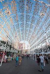 Scorrano, festa di Santa Domenica 2013. Luminarie dedicate alla taranta e alla pizzica