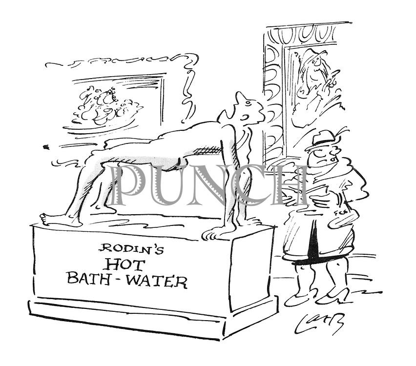 Rodin's Hot Bath-Water