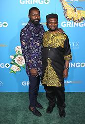 Gringo World Premiere - Los Angeles. 06 Mar 2018 Pictured: David Oyelowo, Stephen Oyelowo. Photo credit: Jaxon / MEGA TheMegaAgency.com +1 888 505 6342