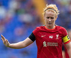 BIRKENHEAD, ENGLAND - Sunday, August 29, 2021: Liverpool's Rachel Furness during the FA Women's Championship game between Liverpool FC Women and London City Lionesses FC at Prenton Park. London City won 1-0. (Pic by Paul Currie/Propaganda)