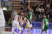 DESCRIZIONE : Roma Lega A 2014-15 <br /> Acea Virtus Roma - Sidigas Avellino <br /> GIOCATORE : Justin Harper<br /> CATEGORIA : tiro tecnica controcampo <br /> SQUADRA : Sidigas Avellino <br /> EVENTO : Campionato Lega A 2014-2015 <br /> GARA : Acea Virtus Roma - Sidigas Avellino <br /> DATA : 04/04/2015<br /> SPORT : Pallacanestro <br /> AUTORE : Agenzia Ciamillo-Castoria/GiulioCiamillo<br /> Galleria : Lega Basket A 2014-2015  <br /> Fotonotizia : Roma Lega A 2014-15 Acea Virtus Roma - Sidigas Avellino
