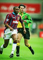 Dalian Atkinson (Villa) Ryan Giggs (United) Aston Vila v Manchester United Coca Cola League Cup Final 1994 @ Wembley. 27/03/94 Credit : Colorsport / Andrew Cowie