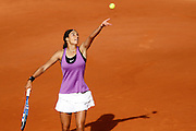 Roland Garros 2011. Paris, France. May 26th 2011..French player Caroline GARCIA against Maria SHARAPOVA