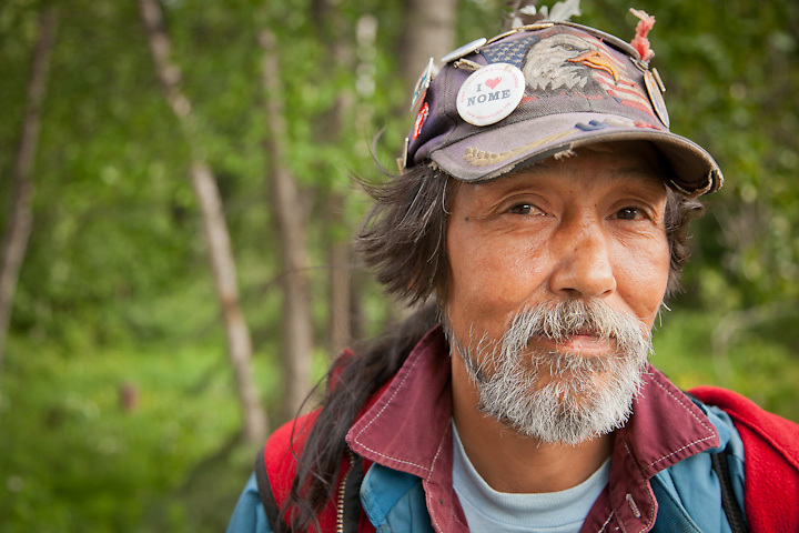 Originally from Nome, Albert A. Johnson, who is Inupiat and Yup'ik Eskimo, is now homeless and living in Anchorage. (Johnson's sister, Carol Johnson, lives at 4003 Minnesota Drive, Apartment #3, 99503)