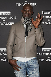 November 10, 2017 - New York, NY, USA - November 10, 2017  New York City..Djimon Hounsou attending the Pirelli Calendar by Tim Walker photocall on November 10, 2017 in New York City. (Credit Image: © Kristin Callahan/Ace Pictures via ZUMA Press)
