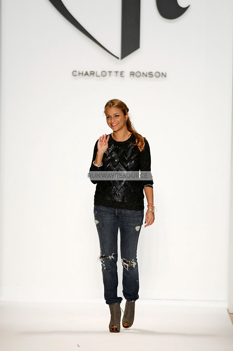Designer Charlotte Ronson at the Charlotte Ronson Fall 2009 Collection