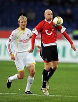 v.l. Sami Hyypiae , Jiri Stajner 96<br /> Bundesliga Hannover 96 - Bayer 04 Leverkusen<br /> <br /> Norway only