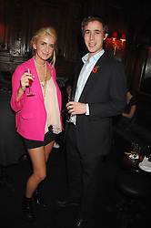 TALLULAH RUFUS-ISAACS and LUKE THOMSON at a party to celebrate the publication of the 2007 Tatler Little Black Book held at Tramp, 40 Jermyn Street, London on 7th November 2007.<br /><br />NON EXCLUSIVE - WORLD RIGHTS